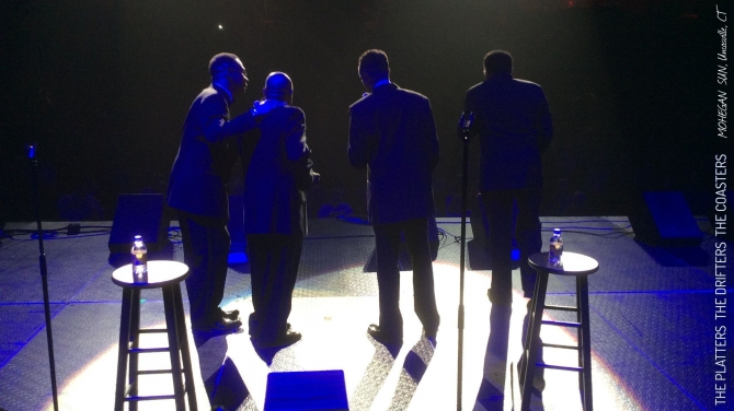 THE PLATTERS, THE DRIFTERS and THE COASTERS - Gabriella Ruggieri & partners