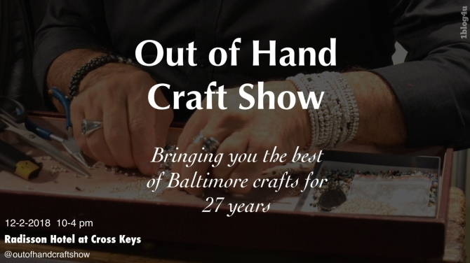 OUT OF HAND Craft Show  2018 - Gabriella Ruggieri & partners